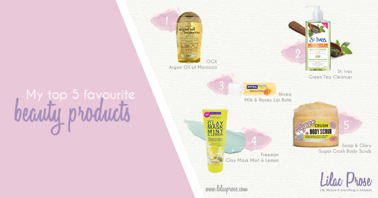 Top-5-Favourite-Beauty-Products