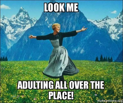 Image result for adulting
