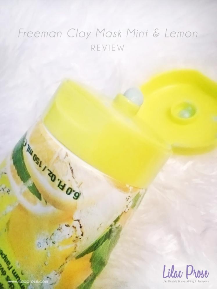 Freeman Clay Mask Mint & Lemon Review 4.jpg