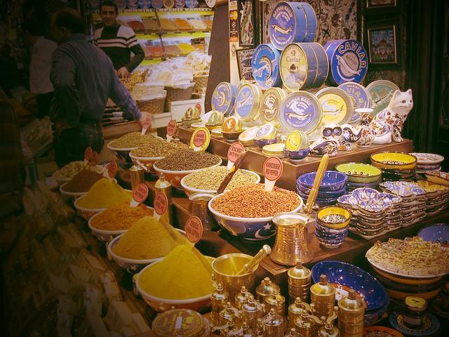 Spice Bazaar Istanbul Turkey