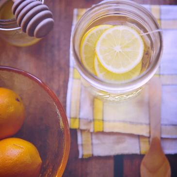 Flu Lemon Honey Water