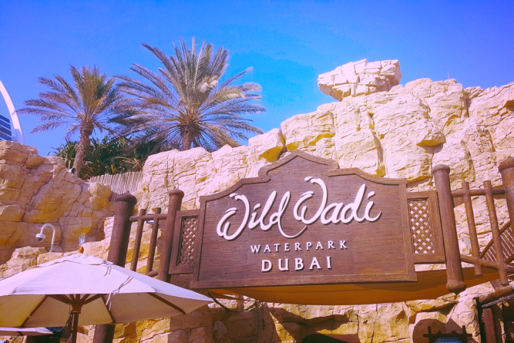 Discover Dubai Part 2 on Lilac Prose Wild Wadi Water Park