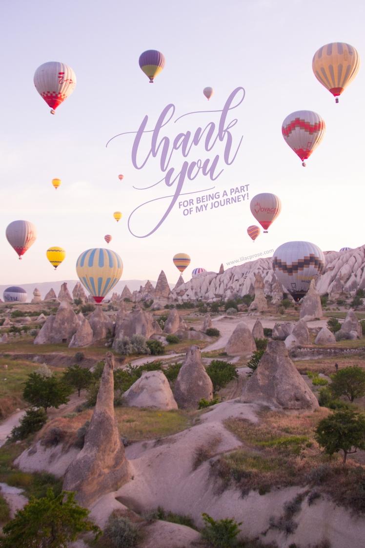 Thank you, appreciation, gratitude, giveaway, blog, 1000k followers, journey